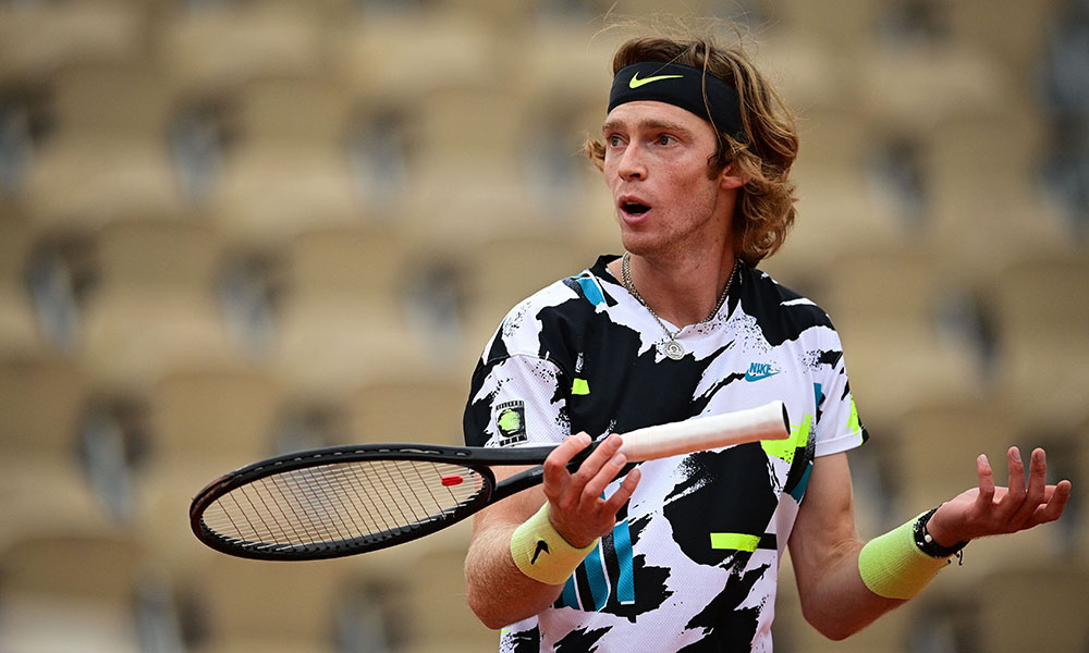 Andrey Rublev confused