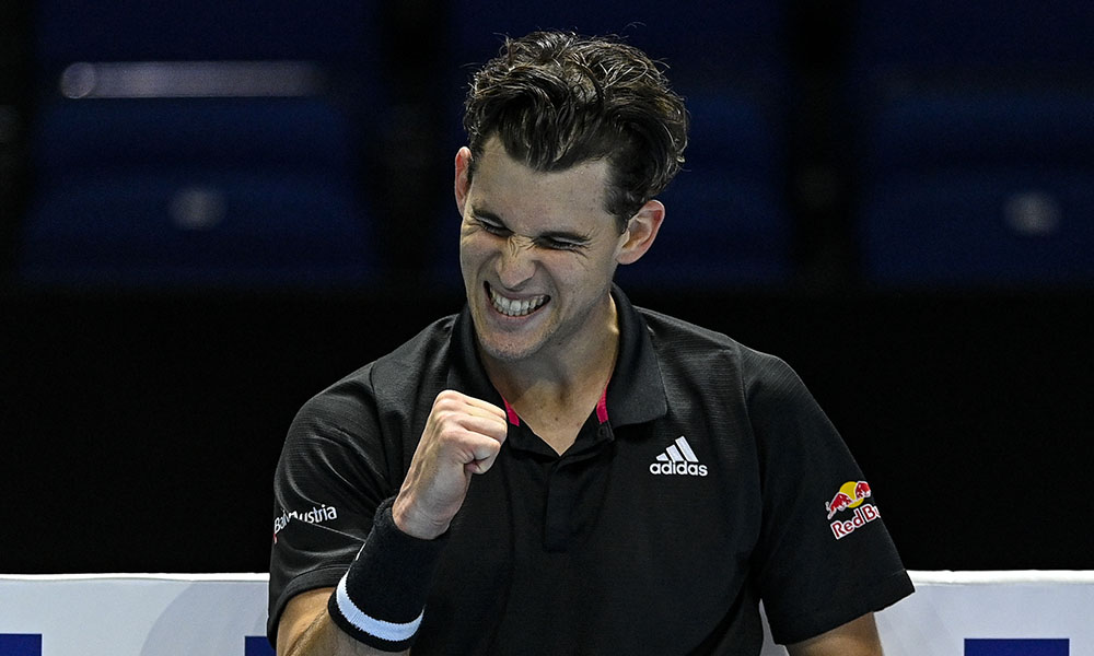 Dominic Thiem super happy